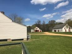 Melrose Plantation- garage and stables